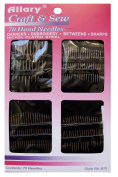 70 Piece Hand Needles. Darners, Embroidery, Betweens and Sharps. Variety of Sizes for Every Projects.