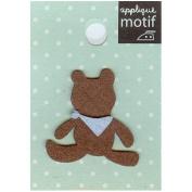 Teddy Bear Design Small Iron-on Applique