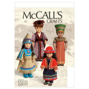 McCall's Patterns M6670 Clothes for 46cm Doll and Accessories Sewing Template