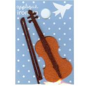 Violin Design Small Iron-on Applique