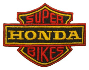 Honda Super Bikes Motorcycles Racing Motard Jacket BH08 Sew Iron on Patches