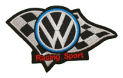 VW RACING SPORT Volkswagen Team Motorsport Jacket CV01 Patches
