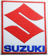 Suzuki Patches Racing Motorsport Patches Embroidered Iron on Patch 7x8 Cm