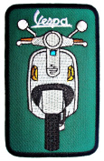 VESPA Scooters Motorcycles Logo Clothing BV08 Iron on Patches