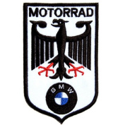 BMW Car Motorcycles Motorrad Racing Jacket T-shirt Polo Patch Iron on Embroidered Badge Sign Logo