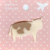 Cow Design Small Iron-on Applique