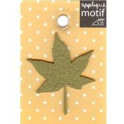 Maple Leaf Design Small Iron-on Applique