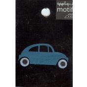 Beatle Car Design Small Iron-on Applique