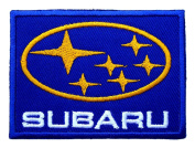 SUBARU Motor Cars Accessories Logo t Shirt CS09 Iron on Patches