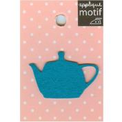 Tea Pot Design Small Iron-on Applique