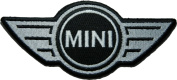 mini cooper Brand of Car Patch (Su001) Logo for Dry Clothing ,Jacket ,Shirt ,Cap Embroidered Iron on Patch ,By Sugar99shop
