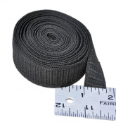 Elastic ~ Non-roll Elastic 1.9cm ~ Black ~ By Yard