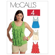 McCall's Patterns M5853 Misses' Tops