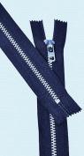 28cm Pants Aluminium Zipper ~ Talon #4.5 with Locking Slider - 264 Scout Blue