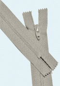 18cm Zipper Talon #3 Skirt & Dress Closed Bottom ~ 813 Shell Grey