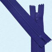50cm Zipper Talon Nylon Coil Zippers ~ Closed Bottom ~ 069 Purple
