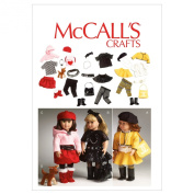 McCall's Patterns M6669 Clothes for 46cm Doll/Accessories and Dog Sewing Template