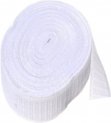 Elastic ~ Non-roll Elastic 3.2cm ~ White ~ By Yard
