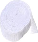 Elastic ~ Non-roll Elastic 3.2cm ~ White ~ By Yard