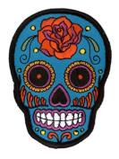 Sunny Buick Rose Sugar Skull Patch
