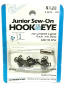Hook & Eye Junior Sew-On