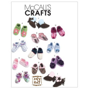 McCall's Patterns M6342 Baby Shoes, Boots, One Size Only