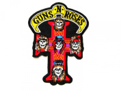Gun'n Rose Rock Music Band Logo Iron on Patch Great Gift for Men and Women/ramakian
