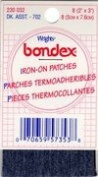 Bondex Patchettes 5.1cm x 7.6cm 3/Pkg-Dark Assortment