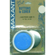 Maxant Button Cover Button Kit-Size 75 2.5cm - 2.2cm 2/Pkg