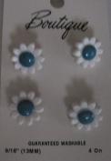 1.4cm Flower Buttons