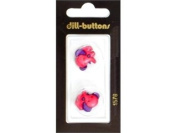 Dill Buttons Pink Elephant