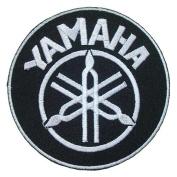 YAMAHA Motorcycles Racing Super Moto Bikes Motard t shirts White Logo BY15 Patches