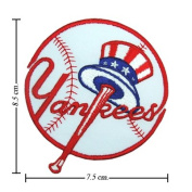 New York Yankees Logo I Embroidered Iron on Patches