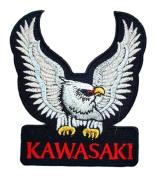 KAWASAKI Eagle Motorcycle Accessories clothing ATV BK05 Patches
