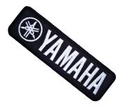 Yamaha Motorcycles Motocross Motard Dirt bikes Vintage White Label BY01 Iron on Patches