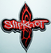 Slipknot Rock Music Band Patches Embroidered Iron on Patch 9x9.5 Cm