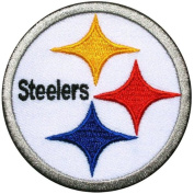 Nfl06 - NFL Pittsburgh Steelers Jersey Iron on Patch Size 3x3 Inches,7.5x7.5 Cm