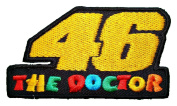 Rossi MotoGP the Doctor 46 Shirts Logo BR12 Iron on Patches