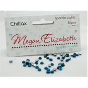 CHILLAX SPARKLE LIGHTZ 4mm Megan Elizabeth New Rhinestone Lights