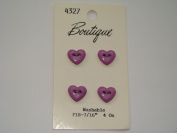 Purple Heart Buttons - Pkg. of 4