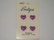 Purple Heart Buttons - Pkg. of 4