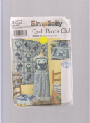 Simplicity Quilt Block Club 9253 ; #3 Baskey & Card Trick