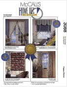 McCalls 3088 Home Decor Sewing Pattern - Timesaving Window Treatments
