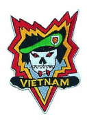 Vietnam Logo Embroidered Iron on or Sew on Patch