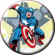 Marvel Captain America Star Button B-5152