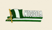 Nigeria Logo Embroidered Iron on or Sew on Patch