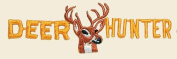 Deer Hunter Logo Embroidered Iron on or Sew on Patch