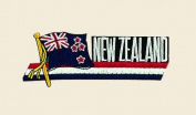 New Zealand Logo Embroidered Iron on or Sew on Patch