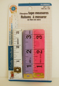 Fibreglass MEASURING TAPE 150cm (Pkg of 3) in Imperial (Inch) & Metric (Cm) Measurements