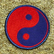 AWMA Yin & Yang Red Blue Patch